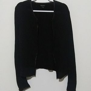 Lucky Brand Thick Sweater with Zipper sleeves